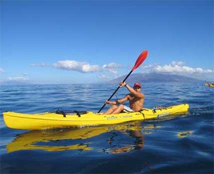 Kayaking at Makena Landing Park