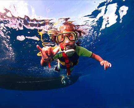 Snorkeling at Makena Landing Park