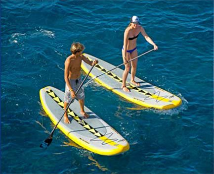SUP at Makena Landing Park