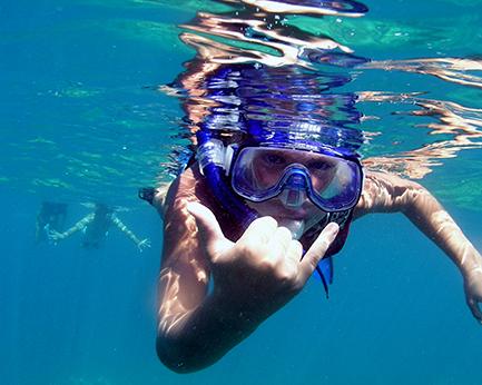 Kid snorkel Makena